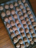 Menu Planning Monday: Freezer Turkey Meatballs