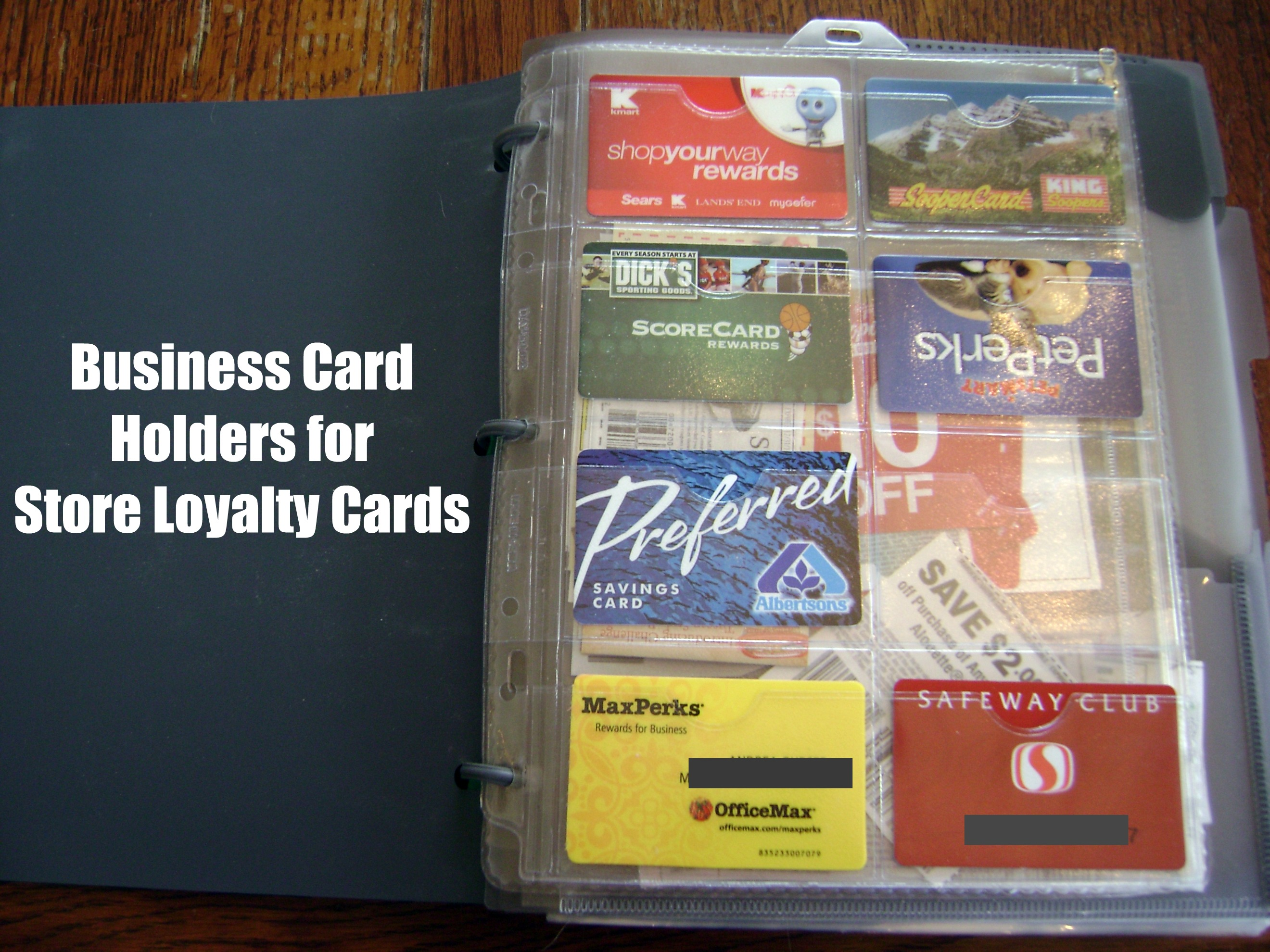 Coupons to your store card