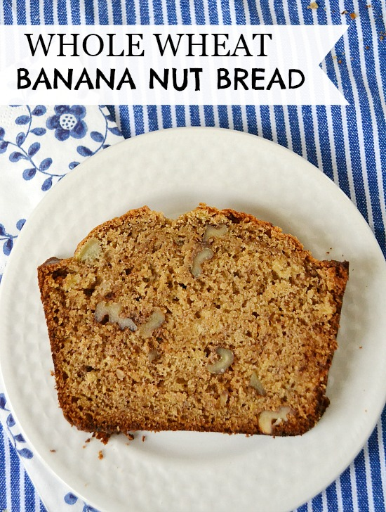 whole grain treats. This whole wheat banana nut bread is loved by my ...