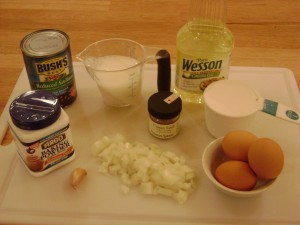Spicy Black Bean Cakes Ingredients