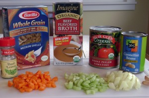 Pasta e Fagioli Ingredients