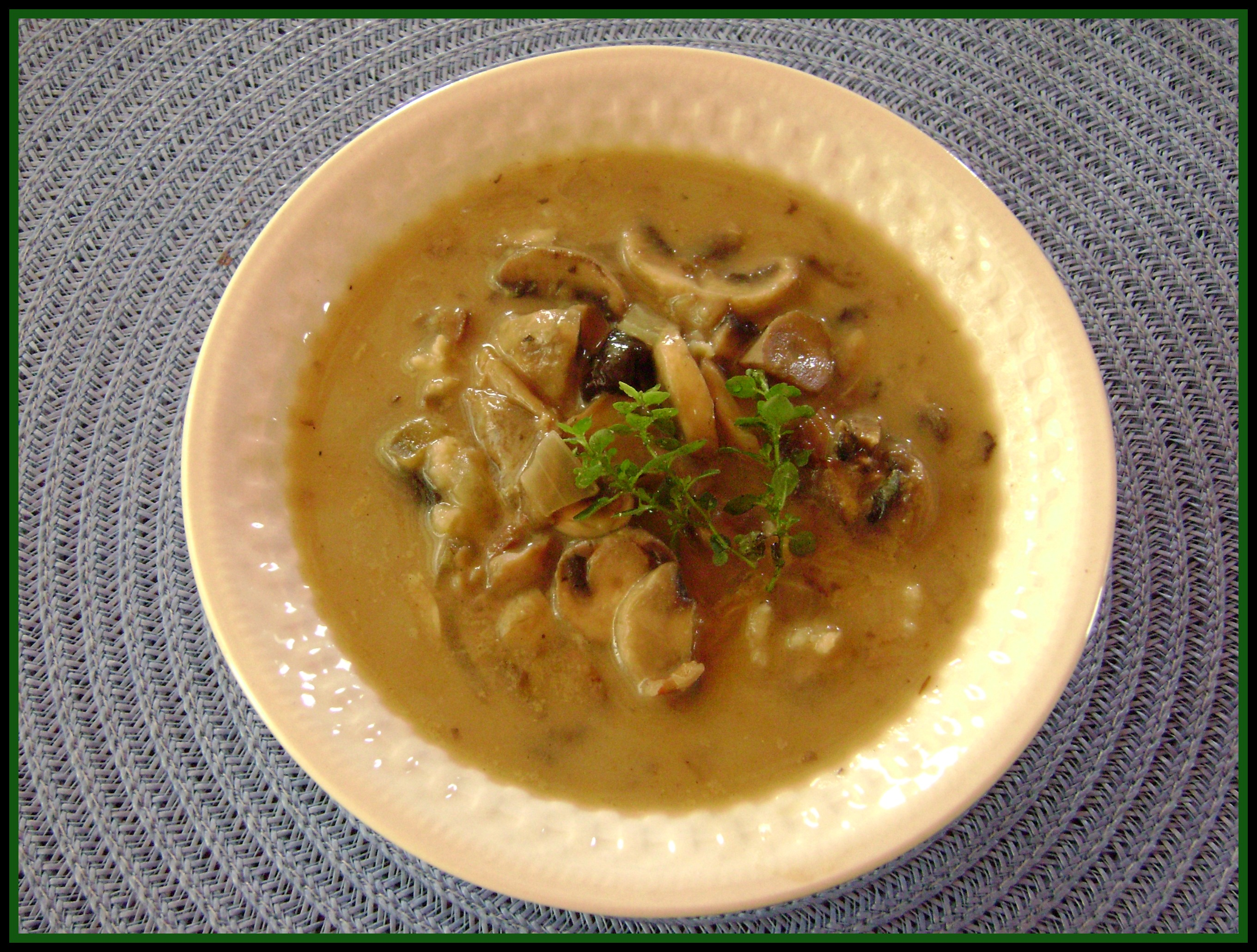 Meatless Monday: Mushroom and Wild Rice Soup - The Greenbacks Gal