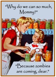 Vintage Zombie Canning Ad