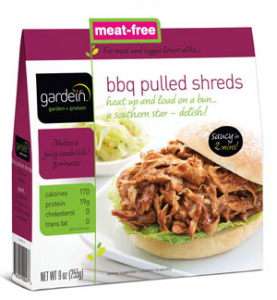 gardein bbq pulled shreds