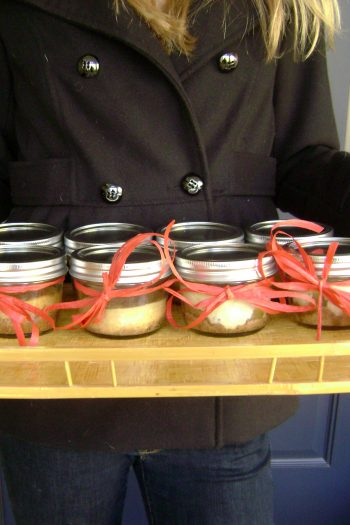 Cheesecakes Baked in Mason Jars