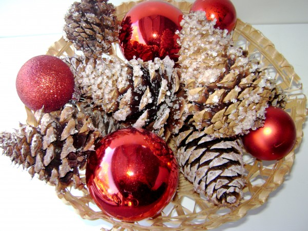 Pinecone Firestarters Basket