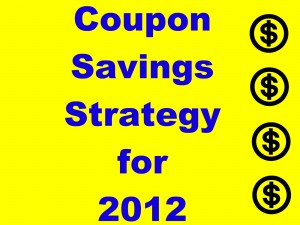Couponing Savings Strategy