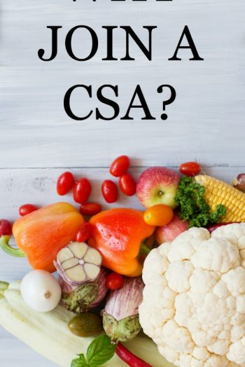 Join a CSA Now!
