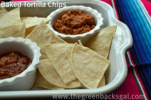 Lime Baked Tortilla Chips