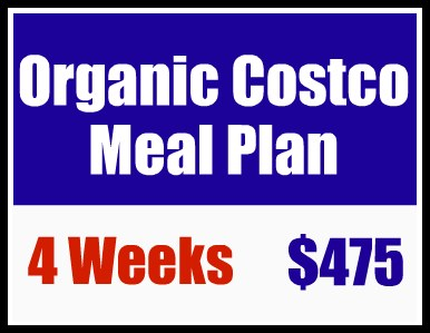 Organic Costco Meal Plan