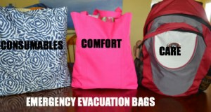 EMERGENCY EVACUATION BAGS