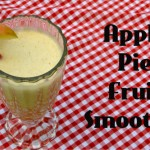 Apple Pie Fruit Smoothie