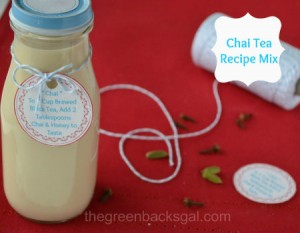 Chai Tea Recipe Mix