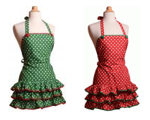Holiday Flirty Aprons