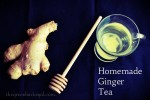 Simple Recipe for Homemade Ginger Tea