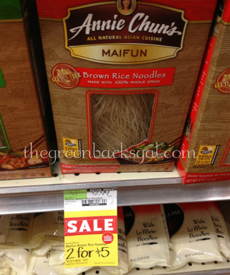 Whole Foods Market Annie Chun's Noodles Sale