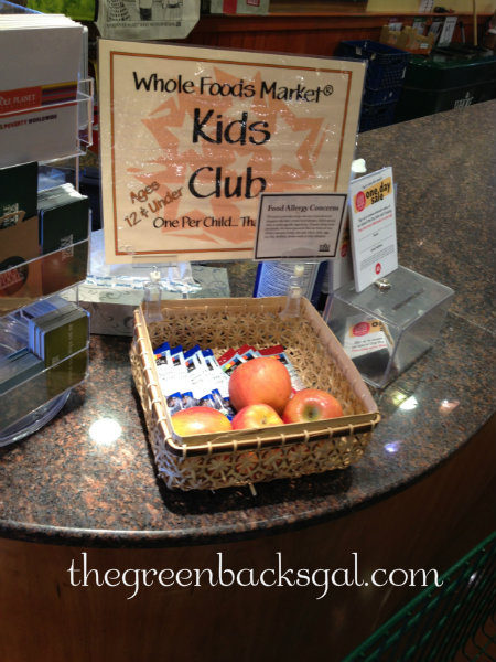 Whole Foods Market Kids Club