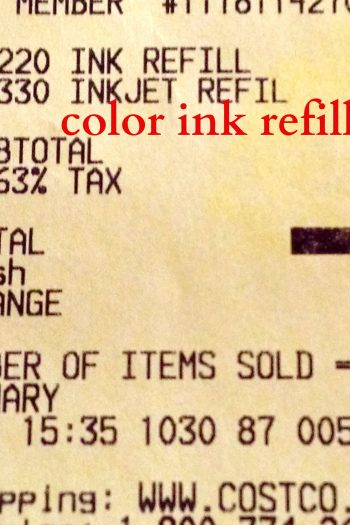 How a Costco Ink Refill Saved Me $20