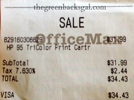 How a Costco Ink Refill Saved Me $20 - Natural Green Mom