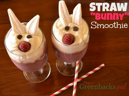 Straw Bunny Smoothies