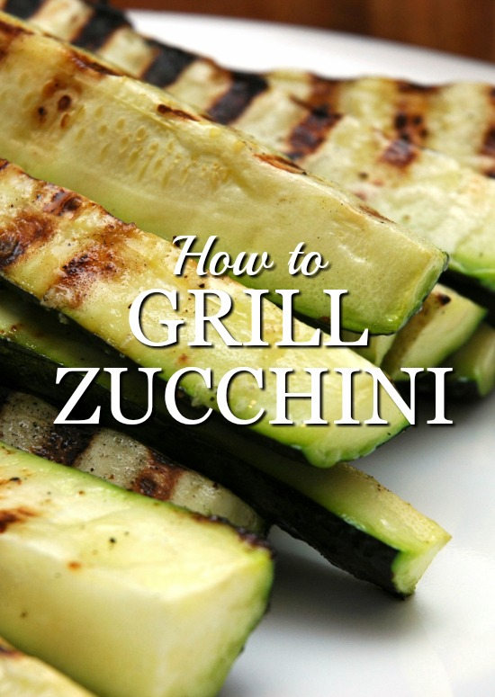 How to grill perfect zucchini every time.