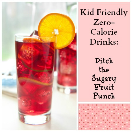 Homemade Iced Teas are great kid-friendly zero-calorie drinks. Ditch the sugary fruit punch!