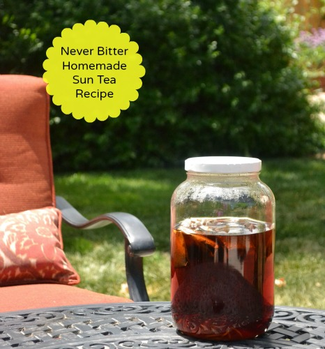 Homemade Sun Tea Recipe