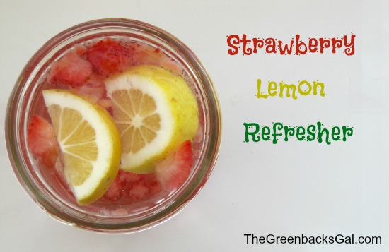 strawberry lemon refresher