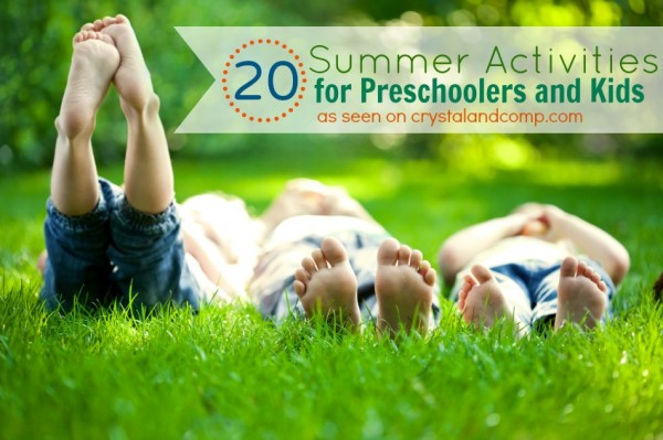summer activities for preschoolers and kids