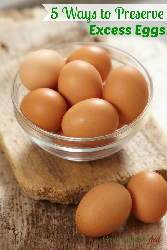 5 Ways to Preserve Eggs