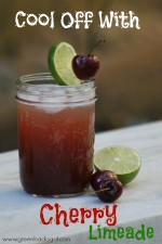 Homemade Cherry Limeade Recipe with Whole Food Ingredients
