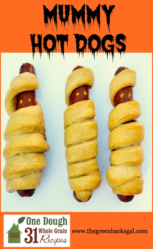 hot dogs wrapped in flatbread dough