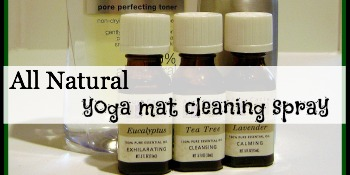 All Natural Yoga Mat Spray