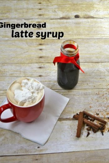 Homemade Gingerbread Latte Syrup Recipe