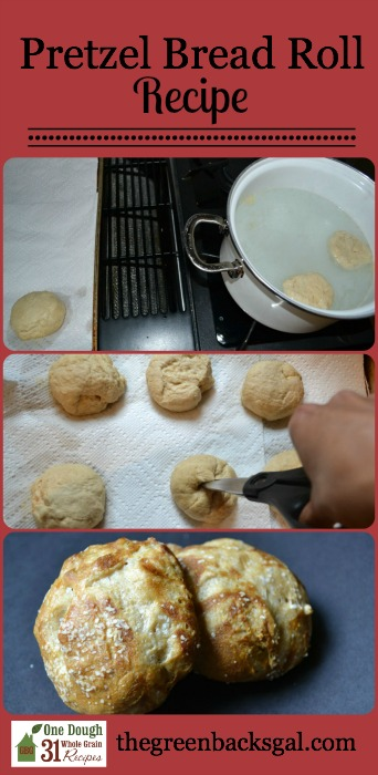 Pretzel Bread Roll Recipe by The Natural Green Mom.jpg