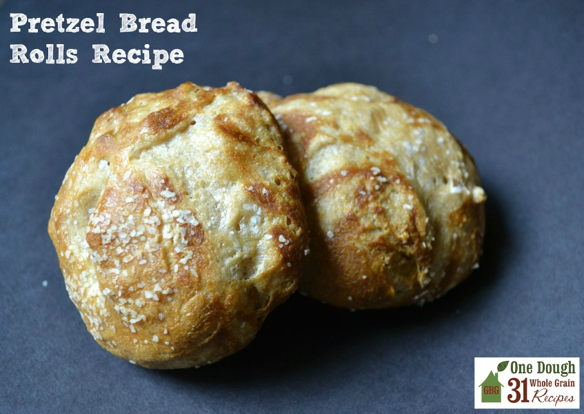 Pretzel Bread Rolls Recipe