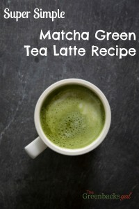 Super Simple Matcha Green Tea Latte Recipe