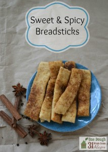 Sweet and Spicy Breadsticks