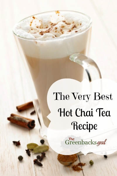 The Very Best Hot Chai Tea Latte Recipe Natural Green Mom