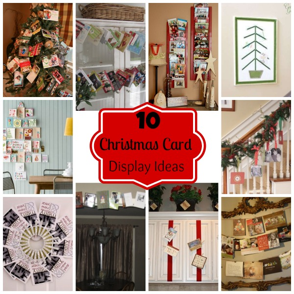10 Christmas Card Display Ideas