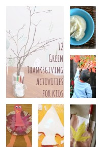 12 Green Thanksgiving Activities for Kids
