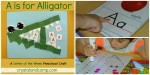 Letter of the Week Crafts for Preschoolers (Save Money on Curriculum)