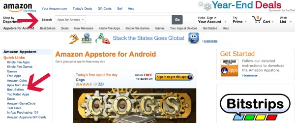 Best Sellers Apps for Android