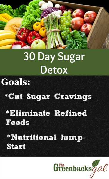 30 Day Sugar Detox Goals
