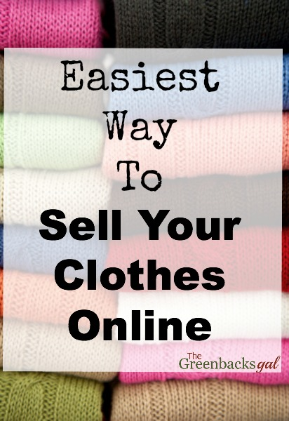 Seriously the easiest way to sell your clothes online