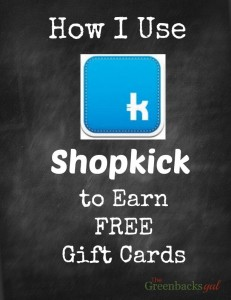 Shopkick for Free Gift Cards