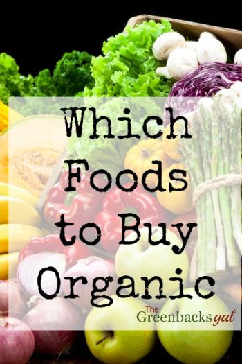 Wondering Which Foods to Buy Organic?
