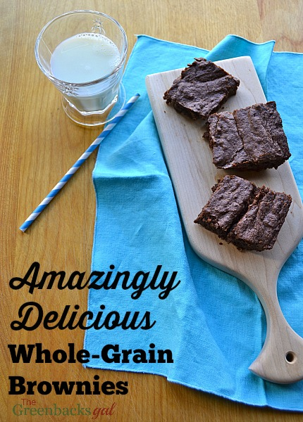 Amazingly Delicious Whole Grain Brownies