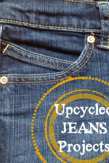 21 Upcycled Jeans DIY Projects To Make This Summer