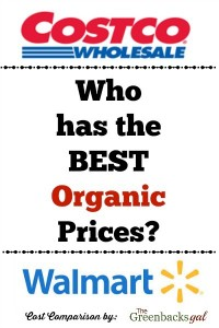 Best Organic Prices